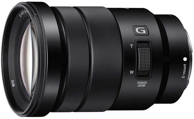 Sony G 18-105mm f/4 Black Telephoto Lens