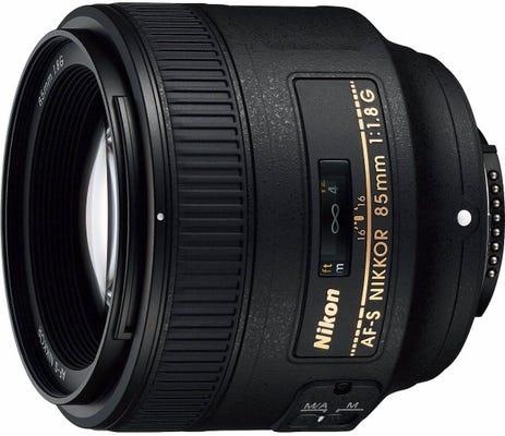 Nikon AF-S 85mm f/1.8G Telephoto Lens