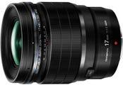 Olympus M.Zuiko PRO 17mm f/1.2 Black Lens