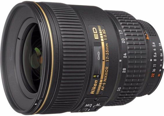 Nikon AF-S 17-35mm f/2.8D IF ED Wide Angle Lens