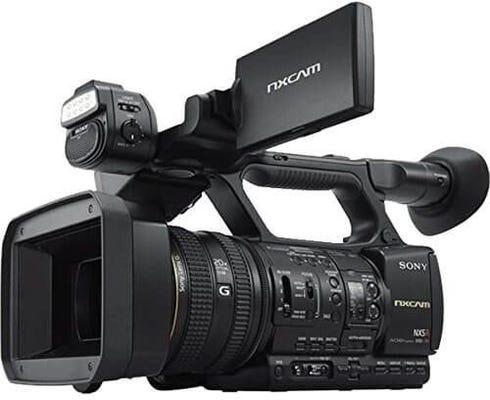 Sony HXRNX5R NXCam 3CMOS 20X Zoom Digital Video Camera