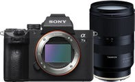 Sony A7 III w/Tamron 28-75mm f/2.8 Di III RXD Lens Compact System Camera