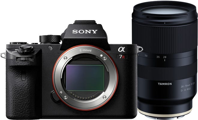 Sony Alpha A7R III w/Tamron 28-75mm f/2.8 Di III RXD Lens Compact System Camera