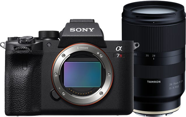 Sony Alpha A7R IV w/Tamron 28-75mm f/2.8 Di III RXD Lens Compact System Camera