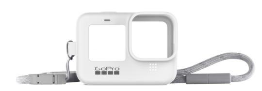 GoPro Sleeve & Lanyard - White (HERO9 Black)