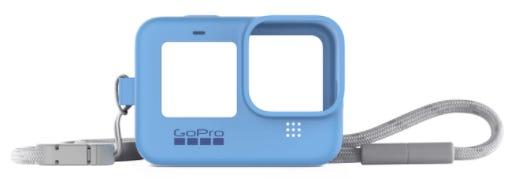 GoPro Sleeve & Lanyard - Blue (HERO9 Black)