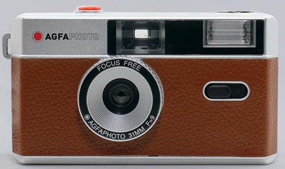 AgfaPhoto Reusable 35mm Film Camera - COFFEE | Camera House