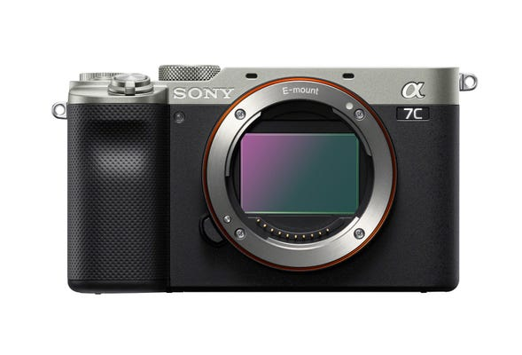 Sony Alpha A7C Silver Compact System Camera (Body Only)