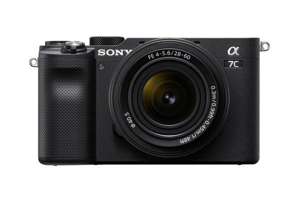 Sony Alpha A7C Black Body w/28-60mm f/4-5.6 Lens Compact System Camera
