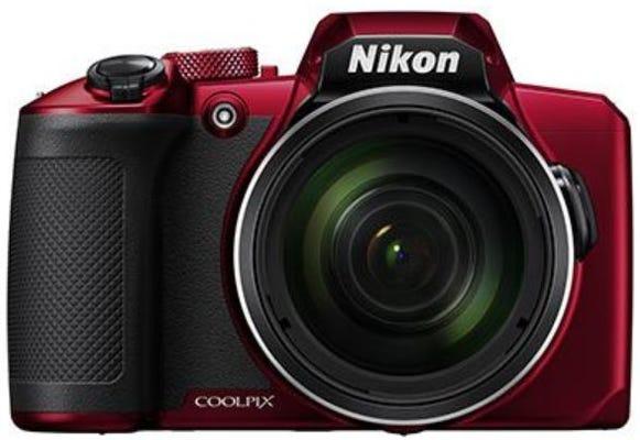Nikon Coolpix B600 Red Digital Compact Camera