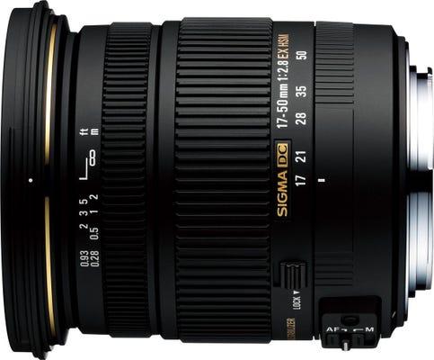 Sigma 17-50mm f/2.8 EX DC HSM Lens - Sony A-Mount