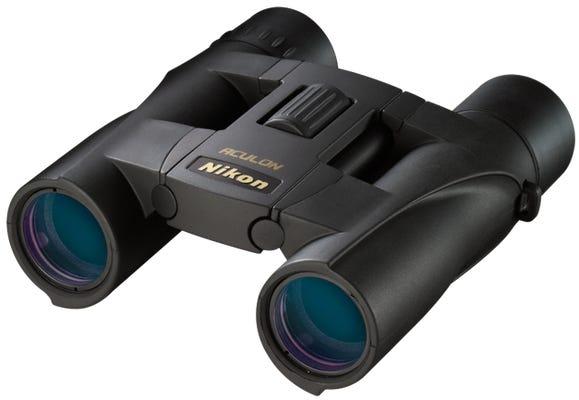 Nikon Aculon A30 10x25 Black Binoculars