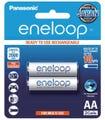 Panasonic Eneloop AA 2000mAh - 2 Pack Batteries Pre-Charged