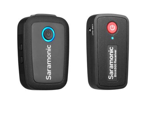 Saramonic Blink 500 B1 Wireless Omni Lavalier Microphone System (2.4 GHz)
