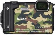 Nikon Coolpix W300 Camouflage Digital Compact Camera w/Bonus Nikon KeyMission Backpack