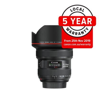 Canon EF 11-24mm f/4L USM Wide Angle Lens
