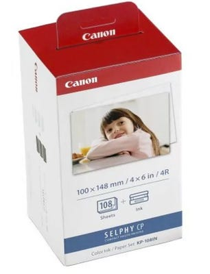Canon KP108IN Ink & Label Kit