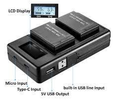 Inca Twin Canon LP-E6N USB Charger