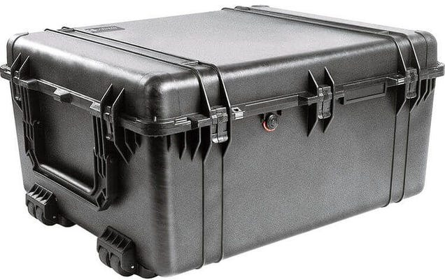 Pelican 1690 Black Transport Case with Foam