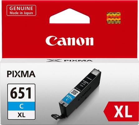 Canon CLI651XLC Cyan Extra Large Ink Tank