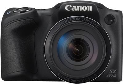Canon Powershot SX430IS Black Digital Compact Camera