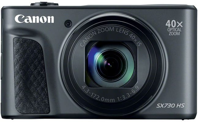 Canon Powershot SX730HS Black Digital Compact Camera