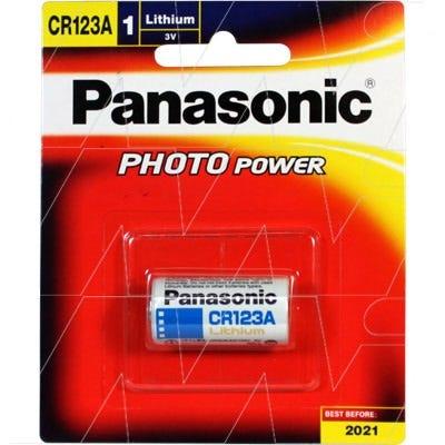 Panasonic CR123 3V Lithium Battery