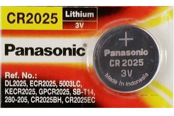 Panasonic CR-2025 Lithium Battery