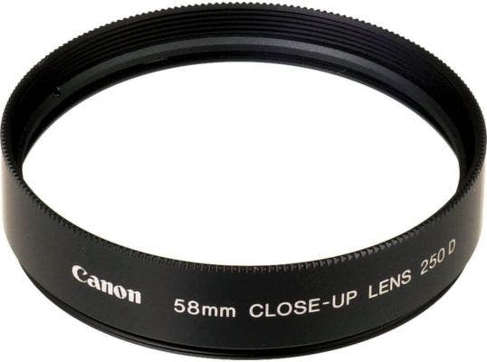 Canon 58mm Close-Up Lens to suit G1/2/3/5/6 & A710IS