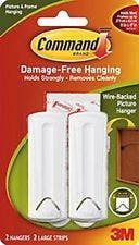 3M Command Wire-backed Picture Hanger 2pk - 17041-2pk