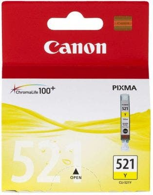 Canon CLI521Y Yellow Ink Tank