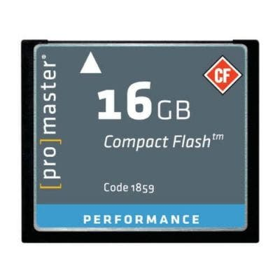 ProMaster CF Performance 16GB 500x 75MB/s Memory Card