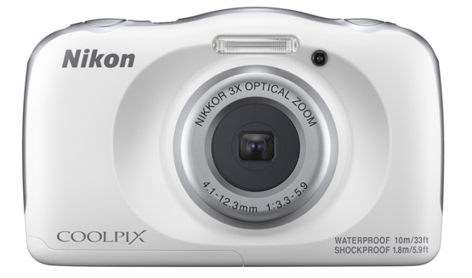 Nikon Coolpix W150 White Digital Compact Camera