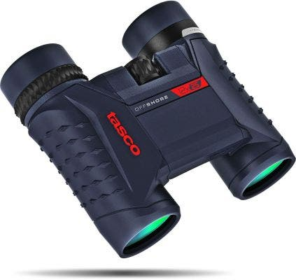 Tasco Off Shore 12x25 Waterproof Binocular - Blue