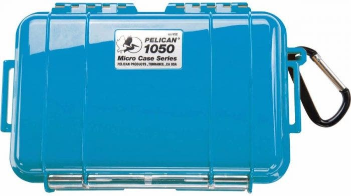 Pelican 1050 Micro Blue Case with Black Liner