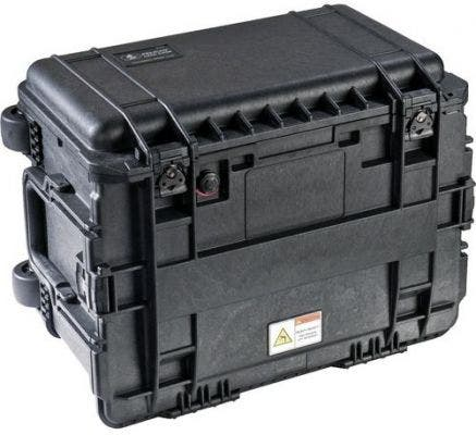 Pelican 450 Black ND WD Tub Top Tool Chest