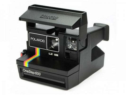 Polaroid 600 Type 80's Style Refurbished Vintage Camera