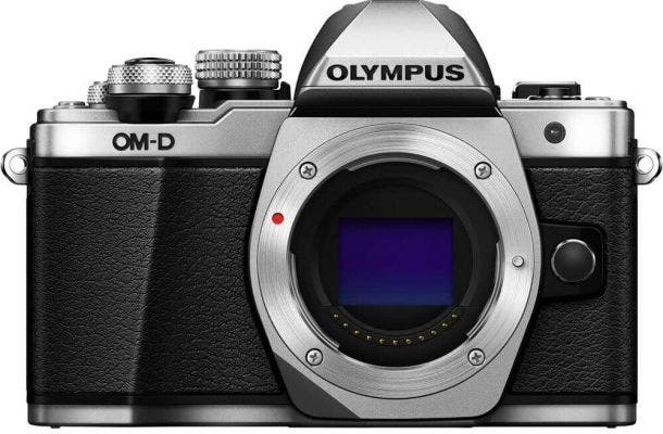 Olympus OM-D E-M10 Mark II Body Only Silver Compact System Camera
