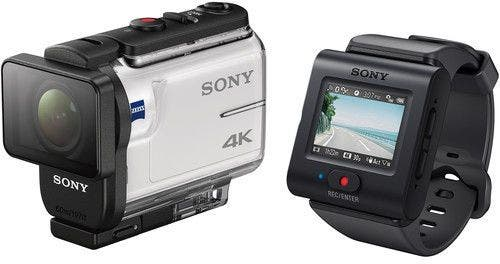 Sony FDRX3000 4K Action Cam w/Live View Remote Digital Video Camera