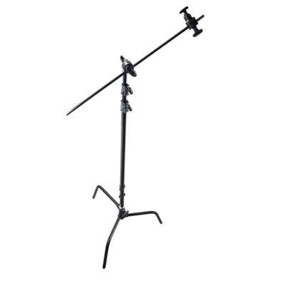 ProMaster Professional C-Stand Kit with Turtle Base Black