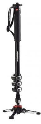 Manfrotto MVMXPROA4 4 Section - XPro Video Monopod with Fluidteck Base