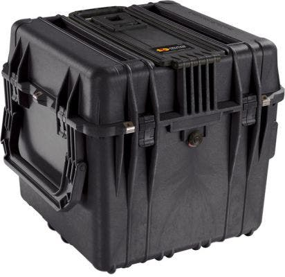 Pelican 350 Black Cube Case