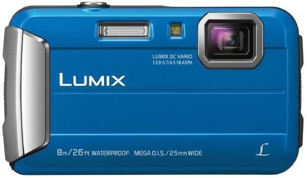 Panasonic Lumix FT30 Blue Digital Compact Camera