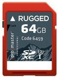 ProMaster SDXC Rugged 64GB 660X / 99MB/s UHS-1 U3 V30 Professional Memory Card