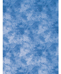 ProMaster Backdrop Cotton 10'x20' Cloud Dyed - Medium Blue
