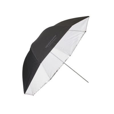 "ProMaster Professional Umbrella - Convertable 36"" - Black/Silver/Translucent"