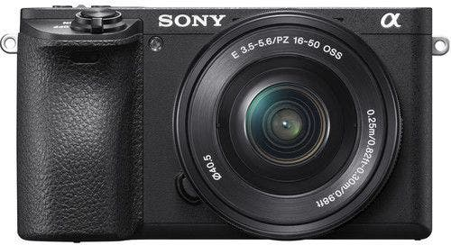 Sony Alpha A6500 w/16-50mm f/3.5-5.6 Lens Compact System Camera