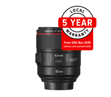 Canon EF 85mm f/1.4L IS Lens