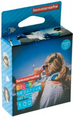 Lomography 100 ISO 35mm 36 Exposure (3 Pack) - Colour Negative Film