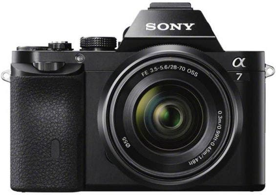 Sony A7 Compact System Camera w/28-70mm f3.5-5.6 Lens